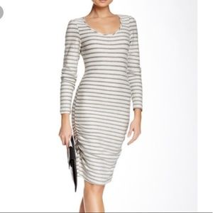 Tart long sleeve striped dress